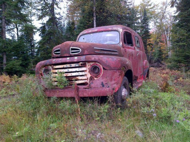 ford panel truck fr100 stationwagon van retro hot rods rod retro classic ti wallpaper
