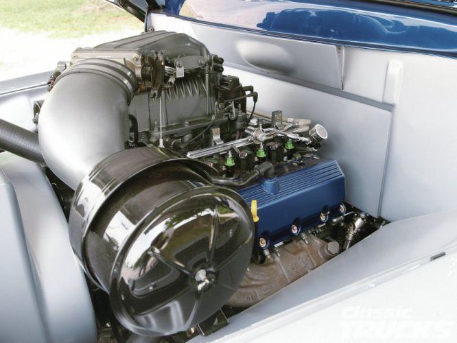 ford panel truck fr100 stationwagon van retro hot rods rod retro classic engine h wallpaper