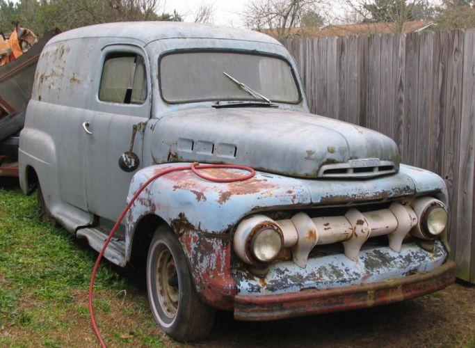 ford panel truck fr100 stationwagon van retro hot rods rod retro classic eq wallpaper