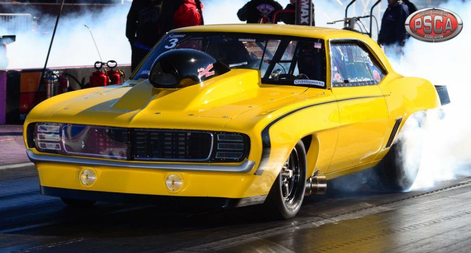 drag racing race hot rod rods chevrolet camaro gu wallpaper