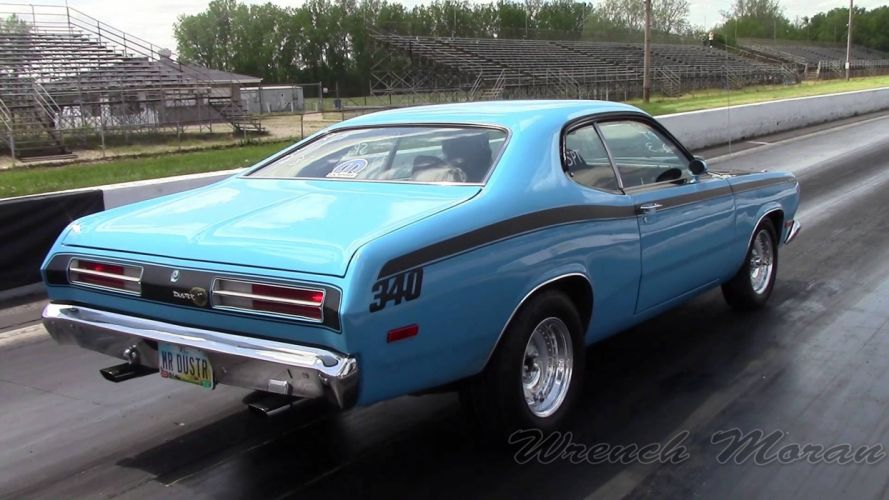 drag racing race hot rod rods duster plymouth f wallpaper