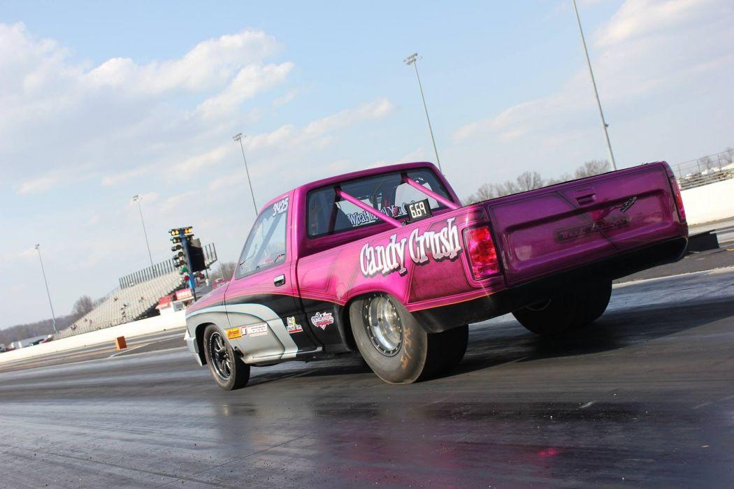 drag racing race hot rod rods pickup truck   g wallpaper