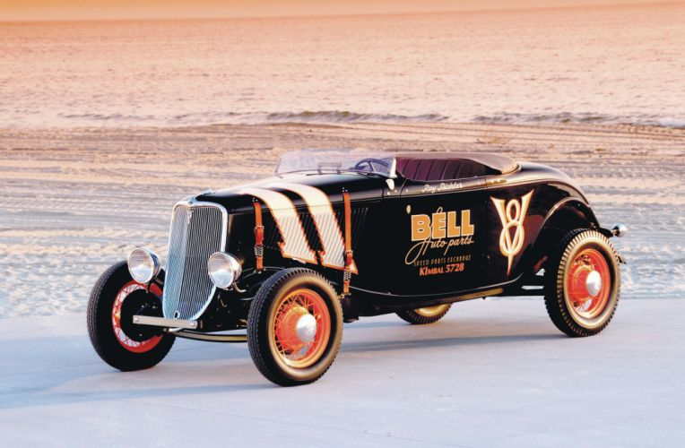 hot rod rods 1933 ford roadster retro f wallpaper