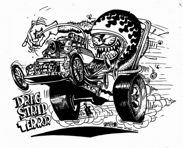 hot rod rods drag racing race cartoon humor funny f wallpaper