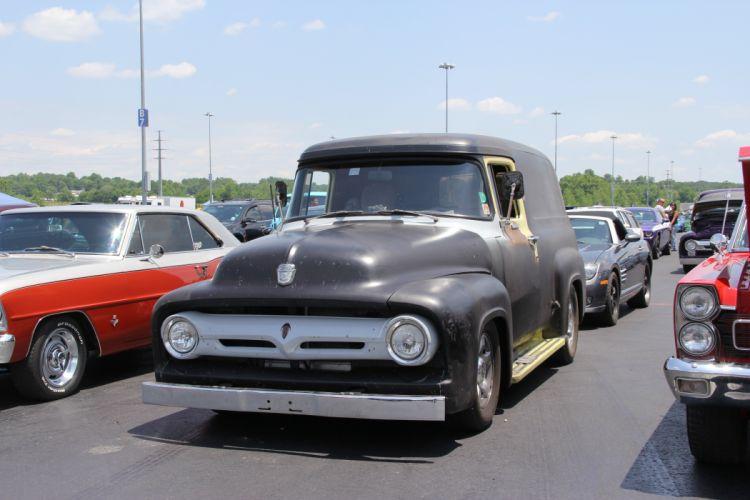 hot rod rods ford panel van truck d wallpaper