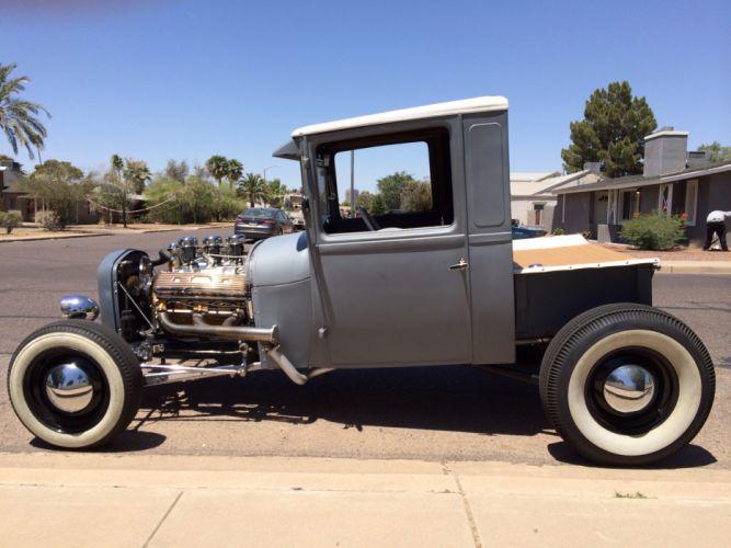 hot rod rods pickup truck retro engine f wallpaper