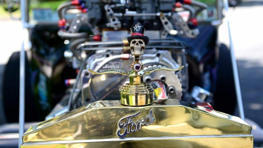 hot rod rods retro dark skull engine f wallpaper