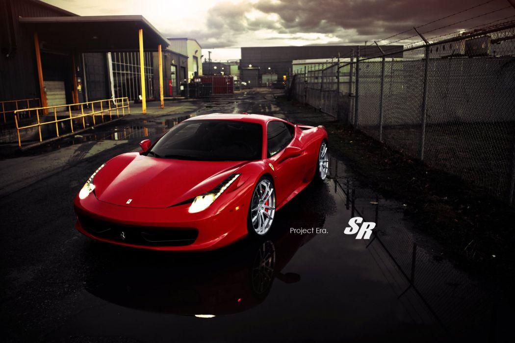 Ferrari-458-Italia wallpaper