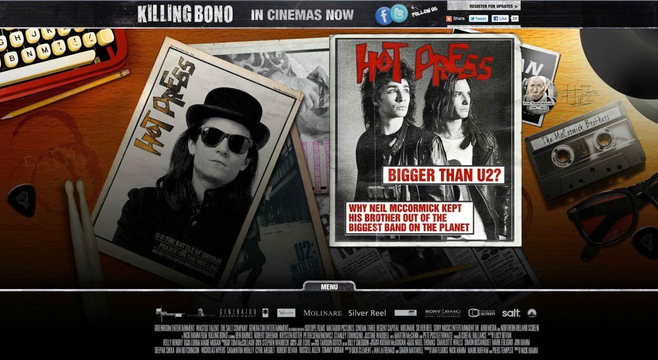 KILLING BONO comedy music film humor funny u-2 hard rock (18) wallpaper