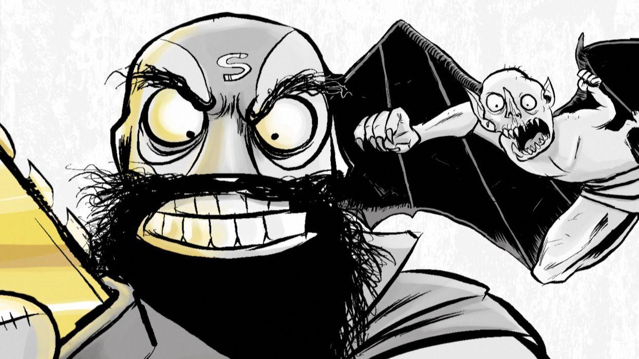 AXE-COP animation action comedy axe cop comics cartoon (6) wallpaper