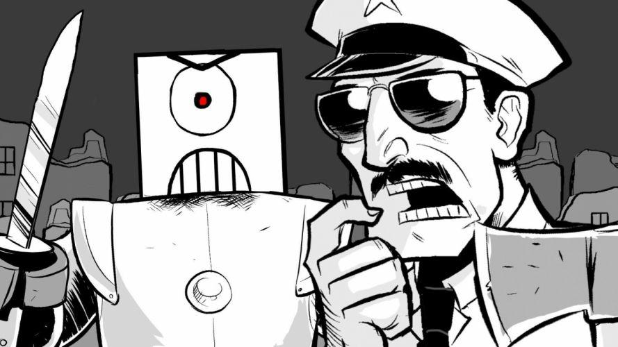 AXE-COP animation action comedy axe cop comics cartoon (33) wallpaper