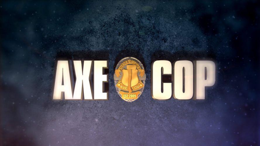 AXE-COP animation action comedy axe cop comics cartoon (30) wallpaper