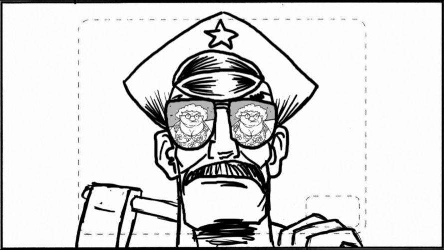 AXE-COP animation action comedy axe cop comics cartoon (41) wallpaper