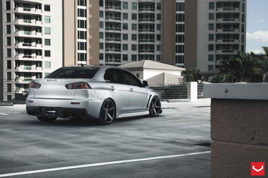Mitsubishi-evo-X wallpaper