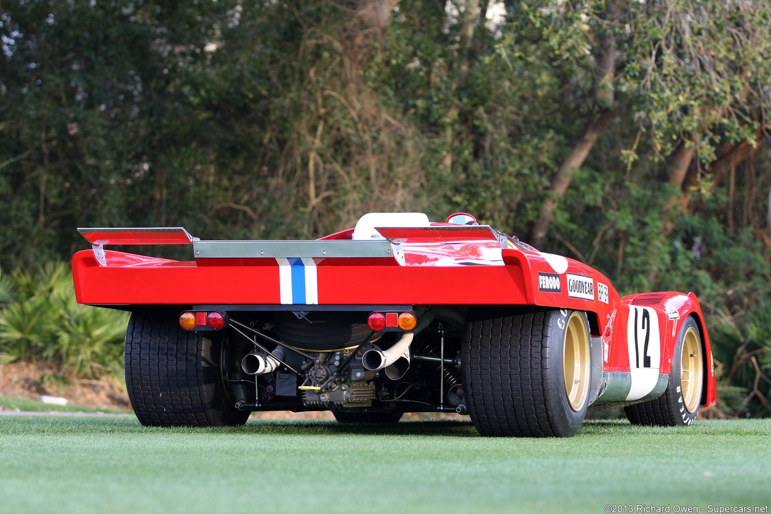 Race Car Classic Vehicle Racing Ferrari Le Mans Wallpaper