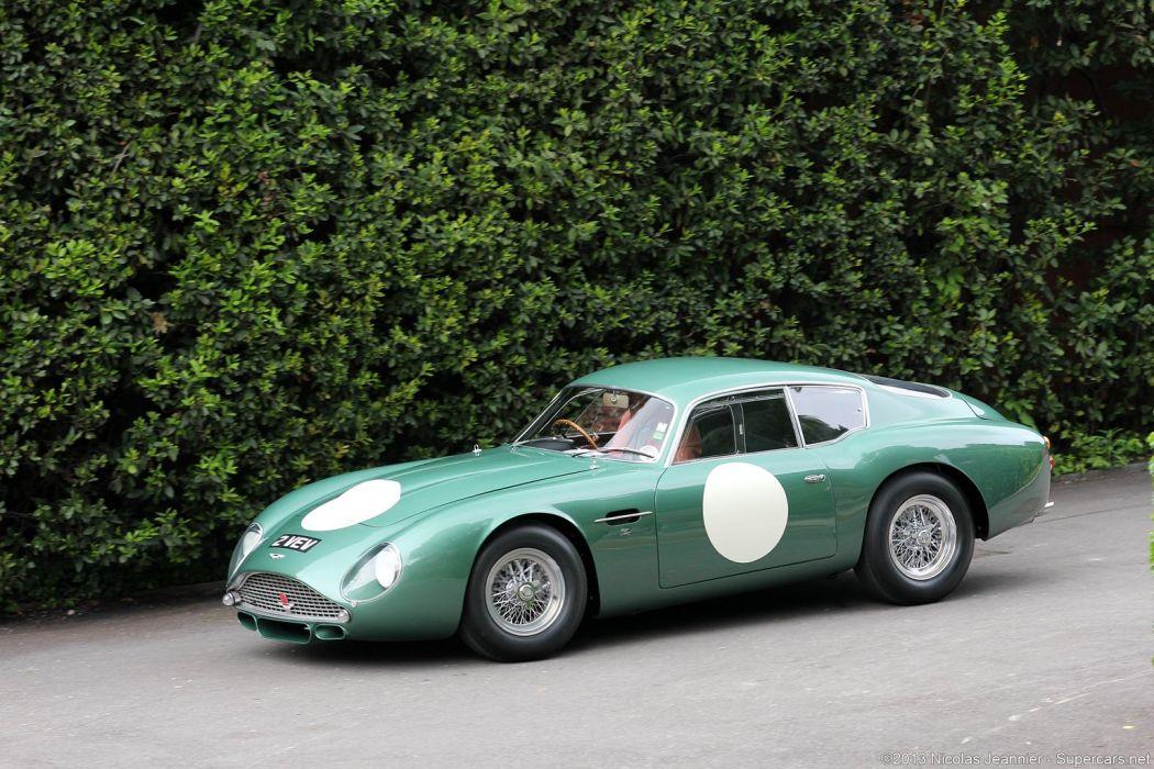 Race Car Classic Vehicle Racing Aston-Martin Green England wallpaper
