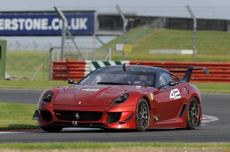 Race Car Racing Vehicle Ferrari 599 GTO Italy wallpaper