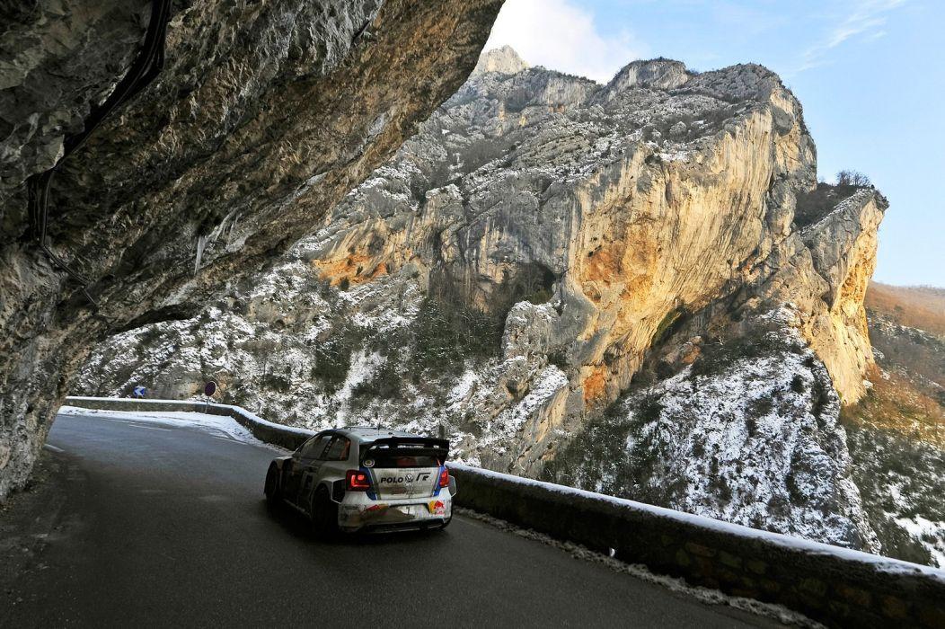 Race Car Racing Vehicle Rally Volkswagem Polo WRC wallpaper