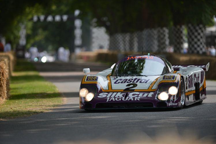 Race Car Classic Vehicle Racing Jaguar Le-Mans LMP1 (9) wallpaper