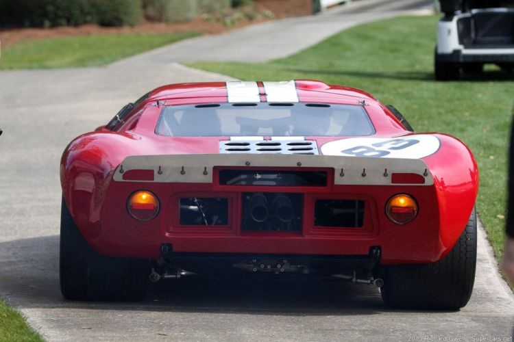 Race Car Classic Vehicle Racing Ford GT-40 Le-Mans (2) wallpaper
