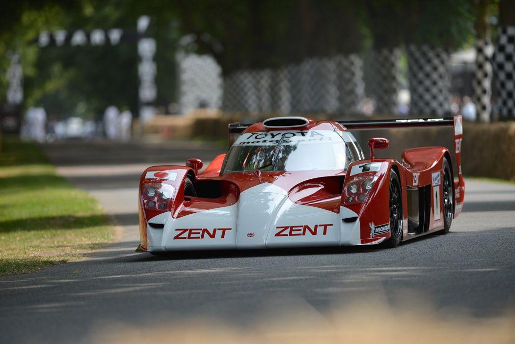 Race Car Classic Vehicle Racing Toyota Le-Mans LMP1 (7) wallpaper