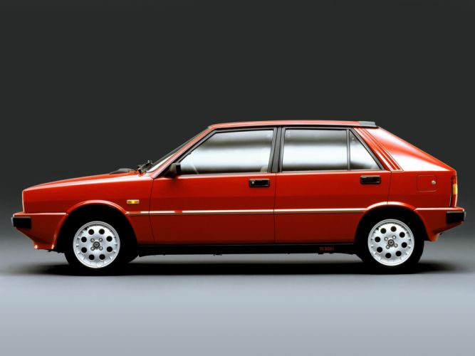1983 Lancia Delta-HF Turbo Car Vehicle Classic Sport Supercar italy 4000x3000 (2) wallpaper