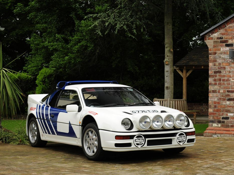 1984 Ford RS200 rally Race racing Car Vehicle Classic Sport Supercar (1) wallpaper