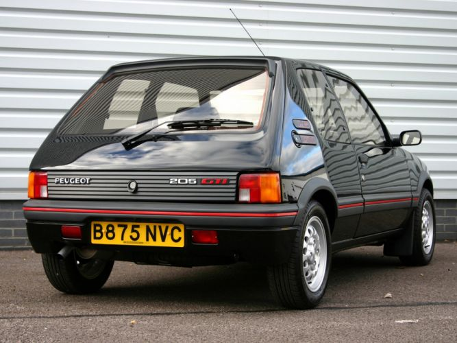 1984 Peugeot 205 GTI Car Vehicle Classic France 4000x3000 (3) wallpaper