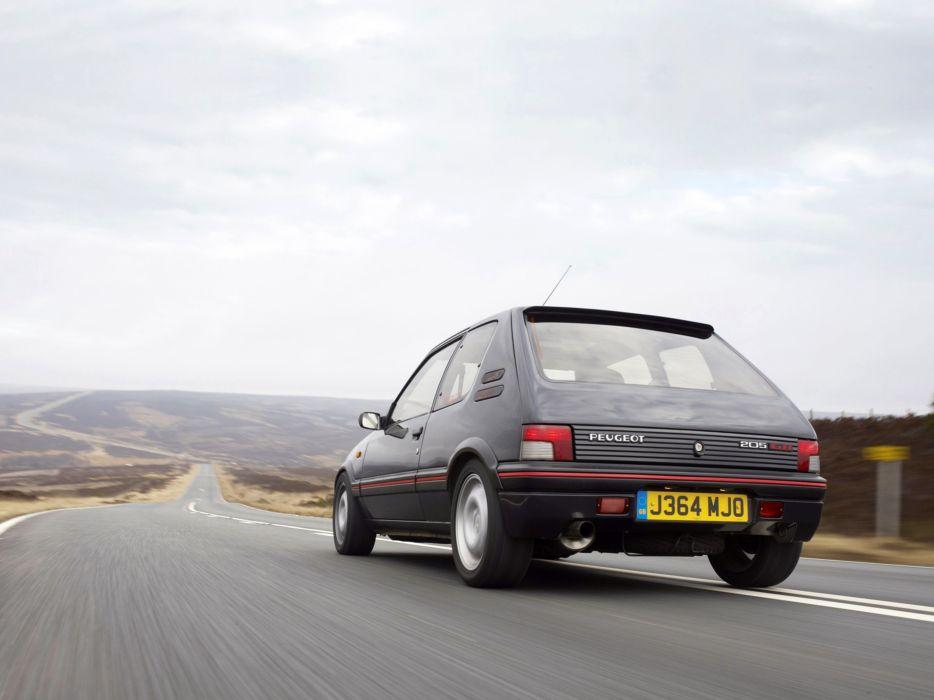 1984 Peugeot 205 GTI Car Vehicle Classic France 4000x3000 (5) wallpaper