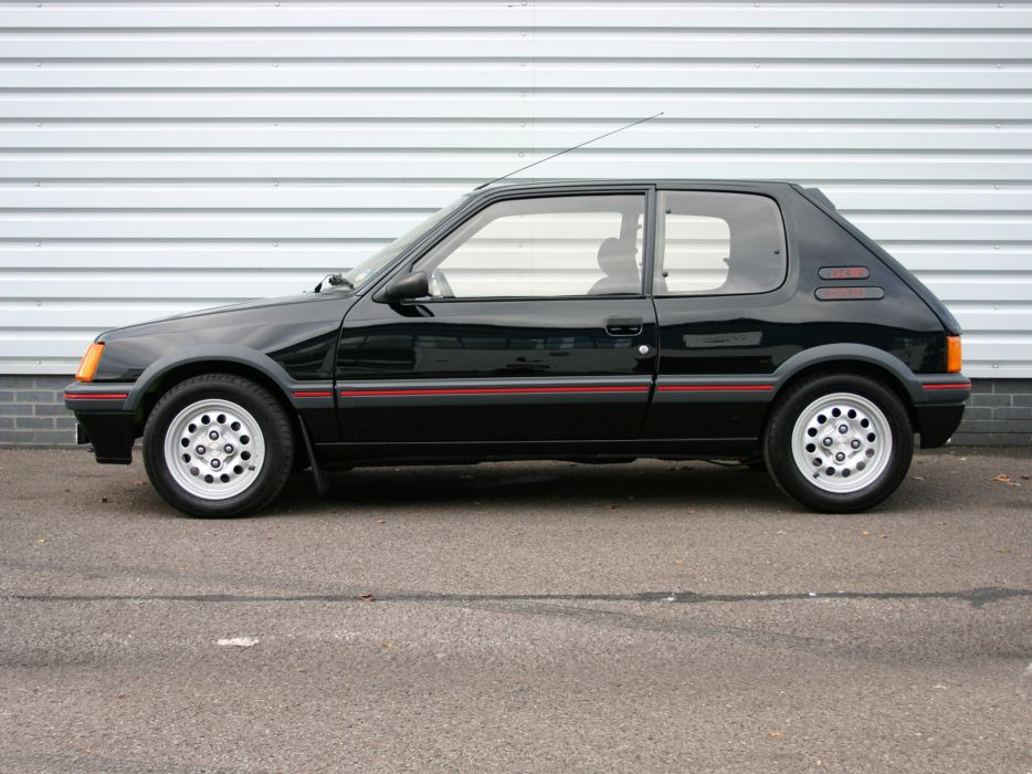 1984 Peugeot 205 GTI Car Vehicle Classic France 4000x3000 (4) wallpaper