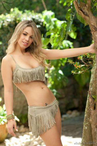 Jully Skrochowski blonde babe sexy brunette bikini model female girl woman2000x3000 (1) wallpaper