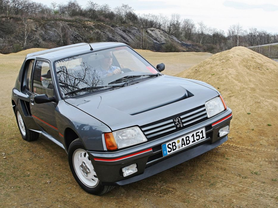 1984 Peugeot 205 T16 Car Vehicle Classic Sport France Supercar 4000x3000 (2) wallpaper