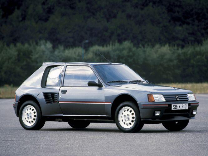 1984 Peugeot 205 T16 Car Vehicle Classic Sport France Supercar 4000x3000 (3) wallpaper