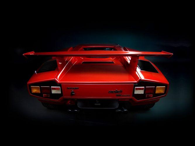 1985 Lamborghini Countach 5000 Quattrovalvole Supercar Italy Sportcar Vehicle Car 4000x3000 (5) wallpaper