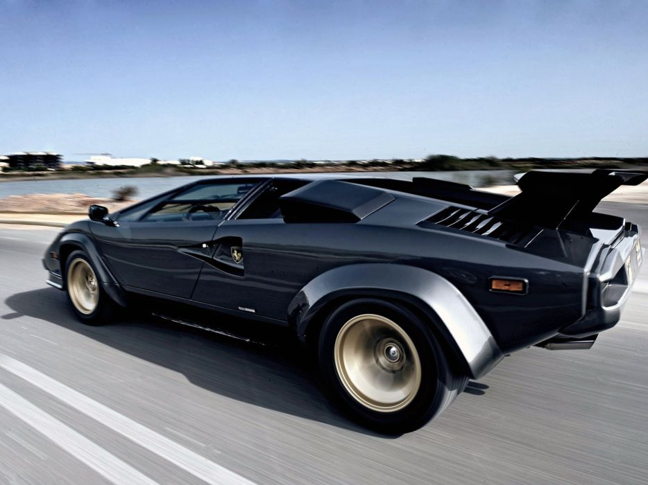 1985 Lamborghini Countach 5000 Quattrovalvole Supercar Italy Sportcar Vehicle Car 4000x3000 (3) wallpaper