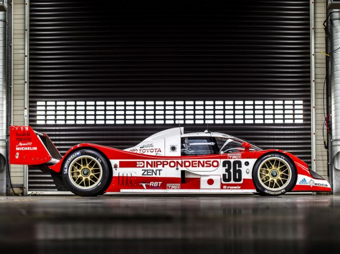 1993 Toyota TS010 Race Car Classic Vehicle Racing Le-Mans LMP1 4000x3000 (1) wallpaper