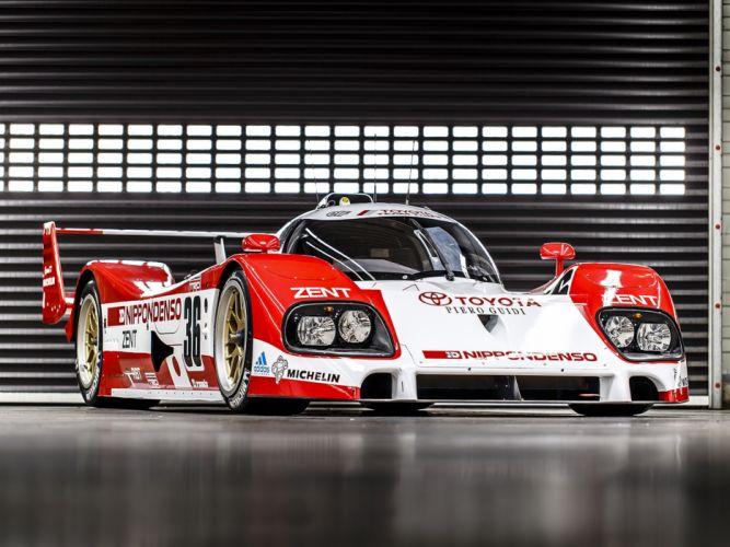 1993 Toyota TS010 Race Car Classic Vehicle Racing Le-Mans LMP1 4000x3000 wallpaper