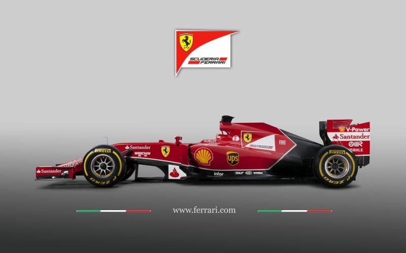 2014 Formula-1 Ferrari F14 Italy Race Car Racing Vehicle 4000x2500 (2) wallpaper