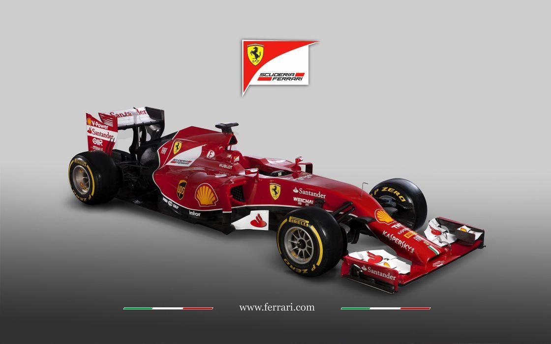 2014 Formula-1 Ferrari F14 Italy Race Car Racing Vehicle 4000x2500 (1) wallpaper
