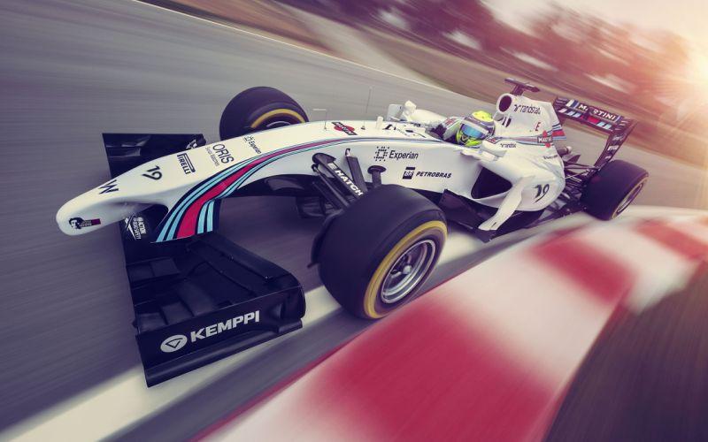 2014 Formula-1 Williams FW36 Race Car Racing Vehicle 4000x2500 (2) wallpaper