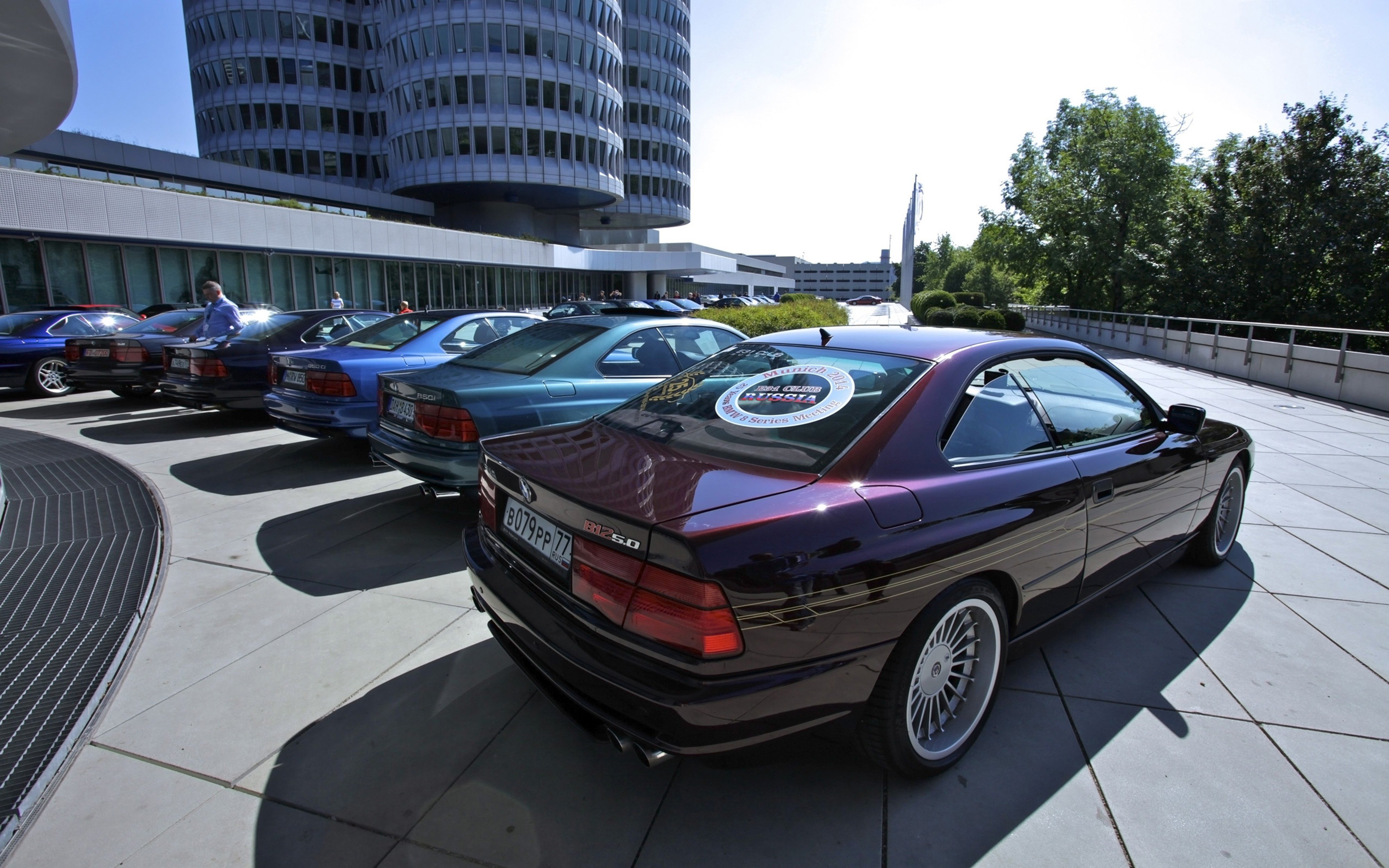 1988 1999 BMW 8 Series 850i Car Vehicle Classic Sport Supercar Germany 4000x2500 10 Wallpaper
