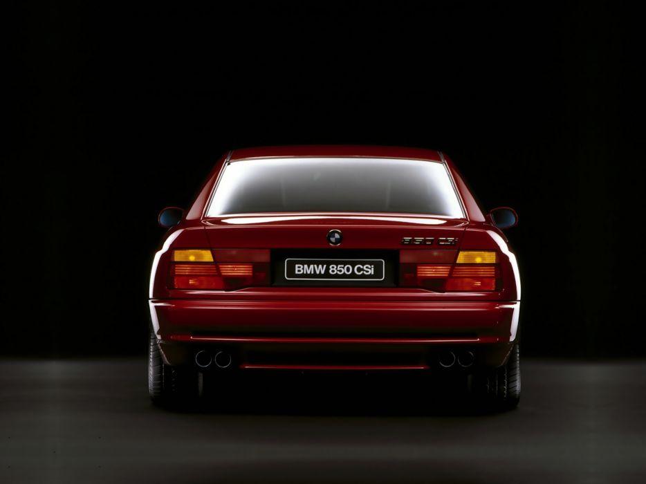 1992 BMW 850 CSi Car Vehicle Classic Sport Supercar Germany 4000x3000 (1) wallpaper