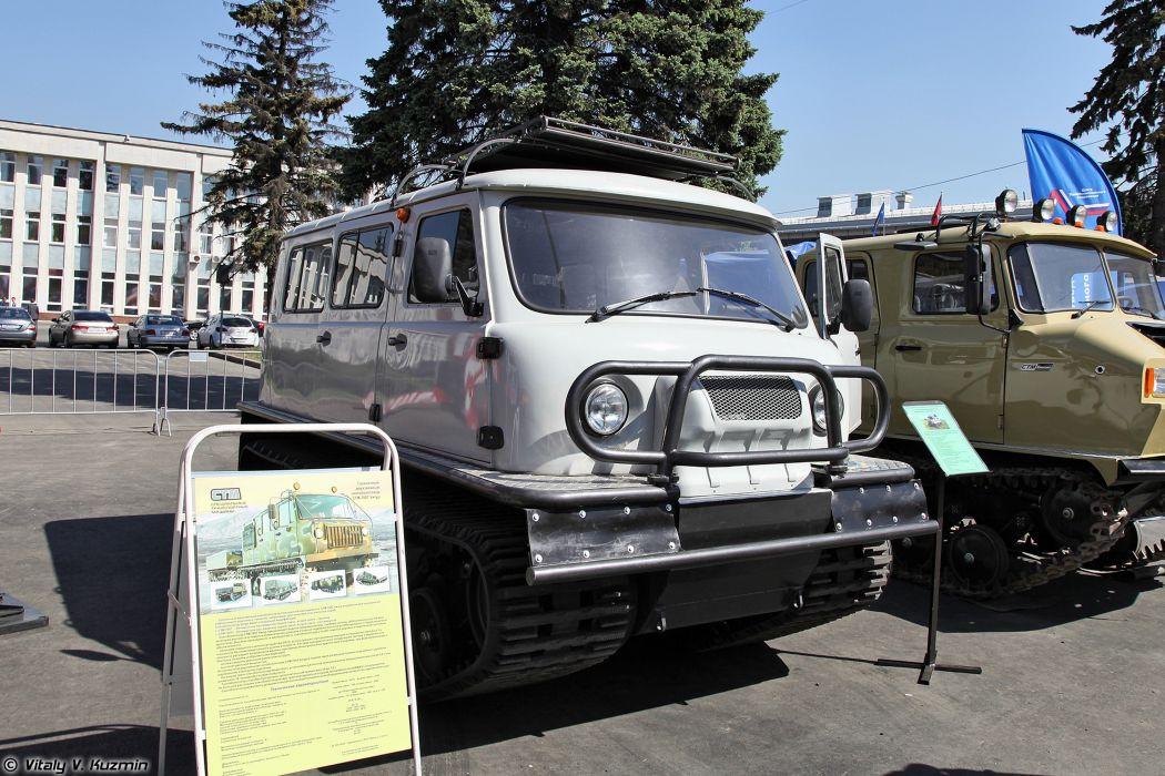 1994 SDCh all-terrain tracked vehicle truck russian Russia 4000x2667 wallpaper