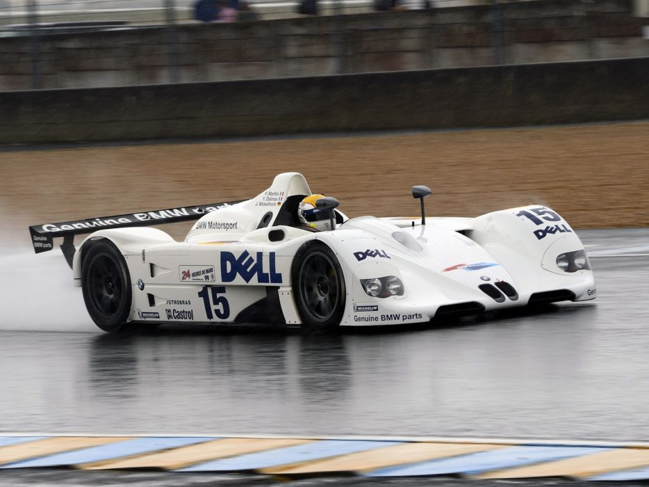1999 BMW V12-LMR Race Car Classic Vehicle Racing Spercar Germany Le-Mans LMP1 4000x3000 (1) wallpaper