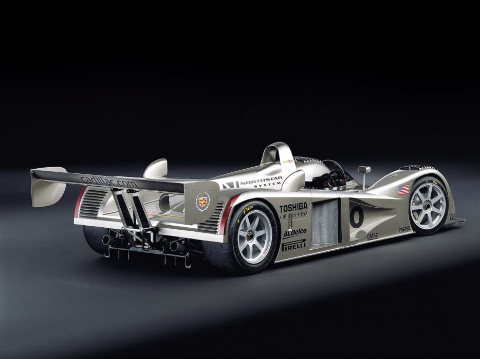 2001 Cadillac LMP Race Car Classic Vehicle Racing Le-Mans LMP1 4000x3000 (1) wallpaper