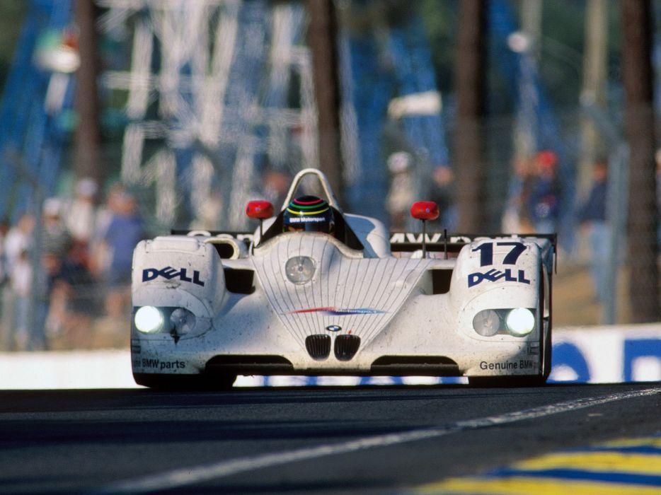 1999 BMW V12-LMR Race Car Classic Vehicle Racing Spercar Germany Le-Mans LMP1 4000x3000 (3) wallpaper