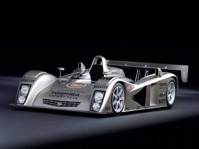 2001 Cadillac LMP Race Car Classic Vehicle Racing Le-Mans LMP1 4000x3000 (2) wallpaper