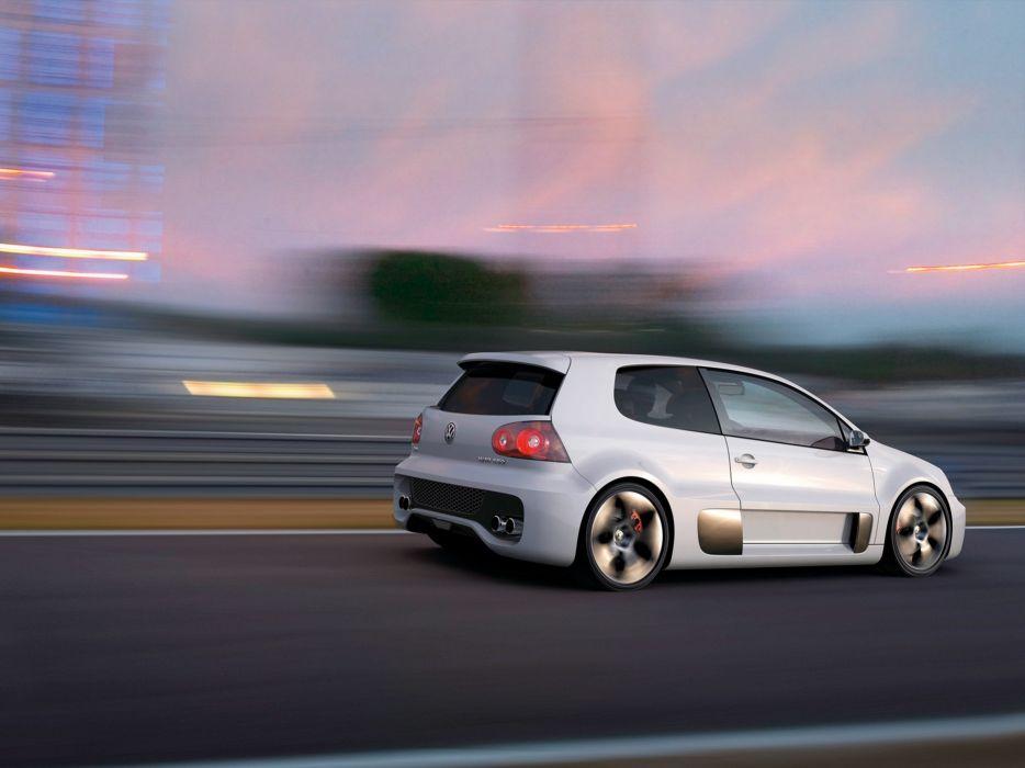 2007 Volkswagen Golf GTI W12 Concept Car Vehicle Sport Supercar Sportcar Supersport 4000x3000 (1) wallpaper