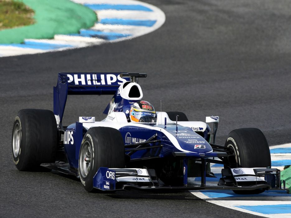 2010 Formula-1 Williams FW32 Race Car Racing Vehicle 4000x3000 (2) wallpaper