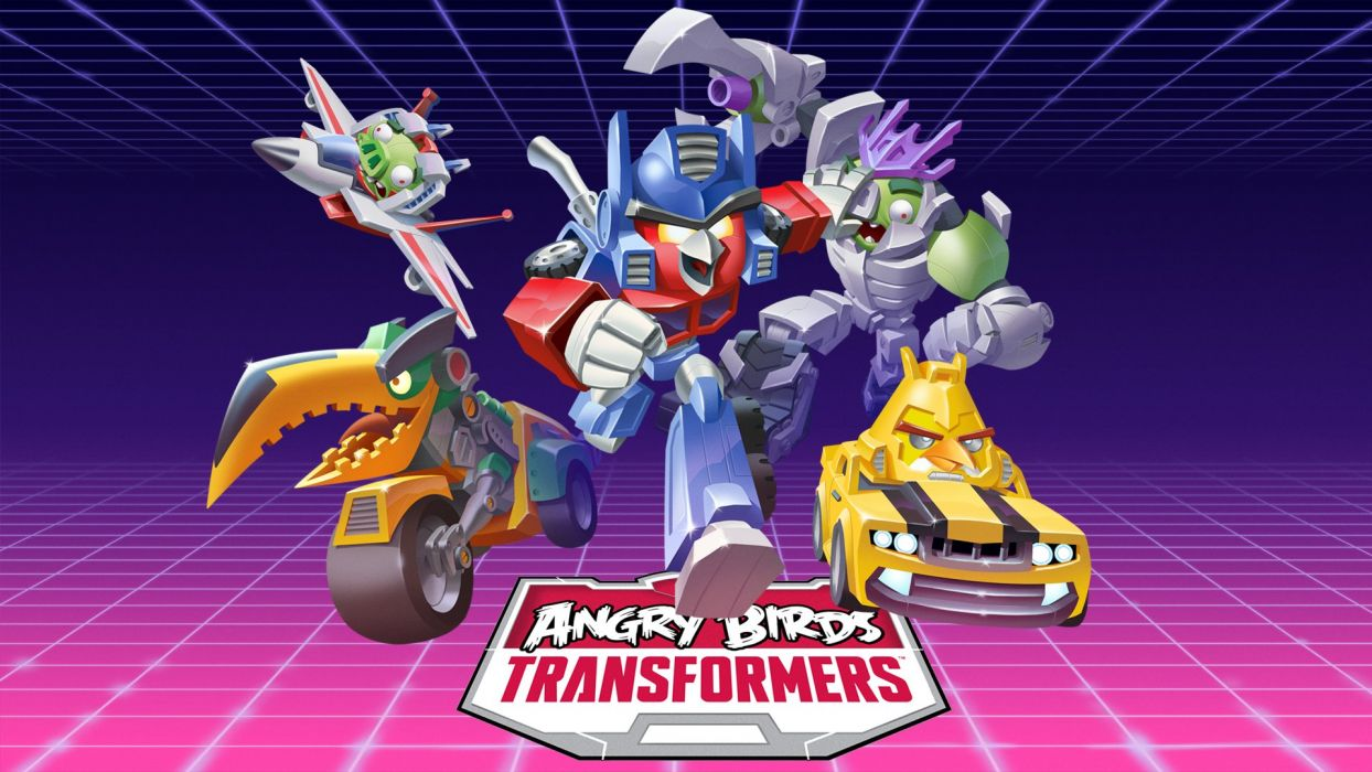 TRANSFORMERS DARK SPARK strategy rpg shooter age extinction action mecha rise angry birds wallpaper
